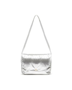 Ban.Do Logged On Metallic Silver Laptop Bag