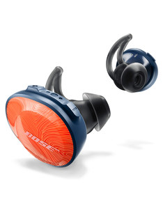 Bose Soundsport Free Wireless In-Ear Earphones Orange/Navy