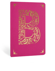Portico Design B Monogram Pink A6 Notebook