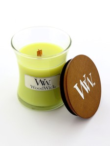 Woodwick Mini Jar Candle Lemongrass