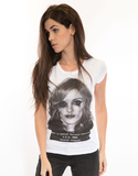 Life Is A Circus Madonna Police White Womens L
