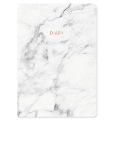 Go Stationery Marble A5 2017/18 Mid Year Diary