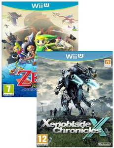 Xenoblade Chronicle X + The Legend of Zelda: The Wind Waker HD [Bundle]