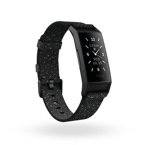 Fitbit Charge 4 Activity Tracker Black Granite Reflective Special Edition