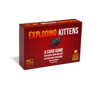 Exploding Kittens Board game Ar/En