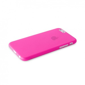 Puro Ultra-Slim Cover Pink with Screen Protector iPhone 6 Plus
