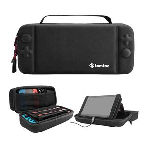 Tomtoc Hard Shell Travel Case Black for Nintendo Switch