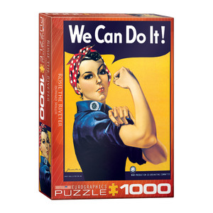 Eurographics Rosie The Riveter by Howard Miller Jigsaw Puzzle [1000 Piece]