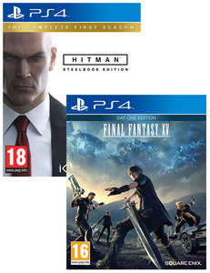 HITMAN: The Complete First Season - Steelbook Edition + Final Fantasy XV - Day One Edition [Bundle]