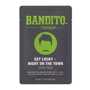 Masque Bar Bandito Get Lucky Night On The Town Sheet Mask 21ml