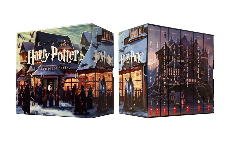 Harry Potter Book Chest ~ Special edition harry potter paperback box set teens