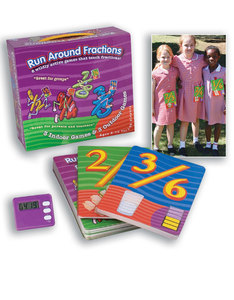 Eduk8 Run Around Fractions Game