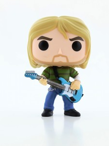 Funko Pop Rocks Kurt Cobain Teen Spirit Figure