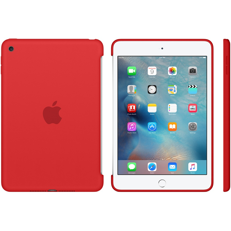 Apple Silicone Case Red iPad Mini 4