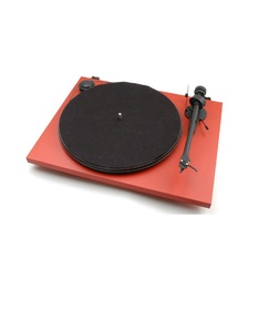 Pro-Ject Essential II Phono Usb Matt Red - Om5E Turntable