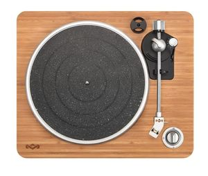 The House of Marley Stir It Up Signature Black Turntable