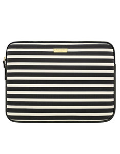 Kate Spade New York Printed Sleeve Fairmont Square Black Cream Macbook Air/Pro 13