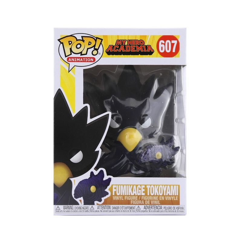 Funko Pop Animation My Hero Academia S3 Tokoyami Vinyl Figure 6 Inch