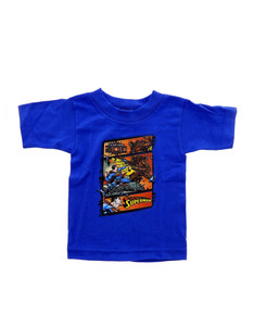 Superman Superman Vs Zod Royal Blue Toddler T-shirt