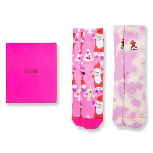 Stance Oh Snap Box Women's Socks [Set of 2]