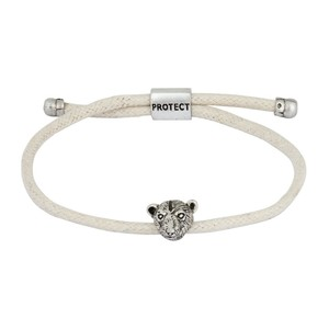 Bold Polar Bear Endangered Eco White Bracelet