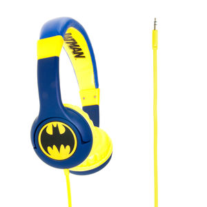 Mr Men & Little Miss Batman Caped Crusader Headphones