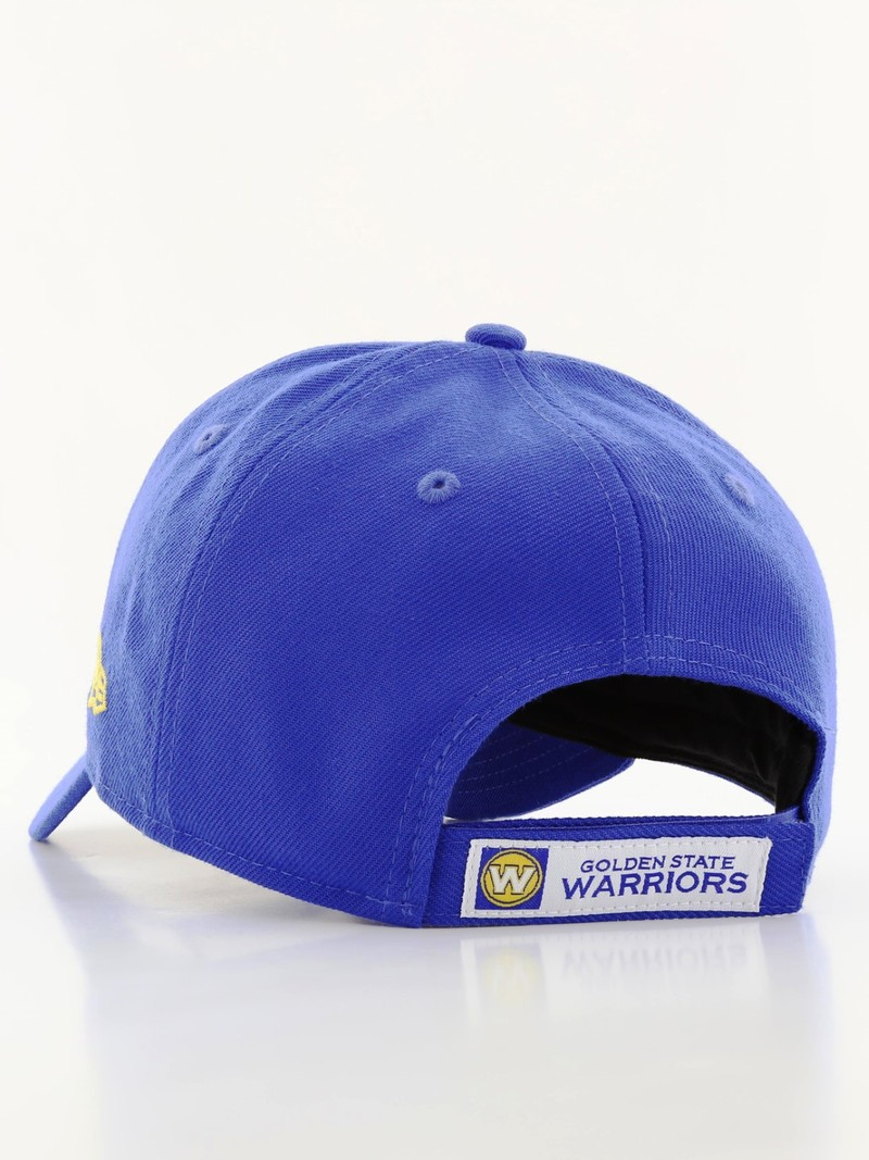 ... New Era The League Golden State Warriors Cap Blue Yellow ... 264bceef702