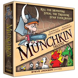 Munchkin Board Game Deluxe Edition
