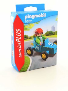 Playmobil Boy with Go-Kart
