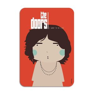 The Doors Card by Ninasilla [10.5 x 14.8 cm]
