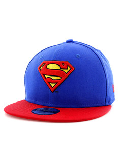 New Era Hero Essential Snap Superman Youth Cap Blue