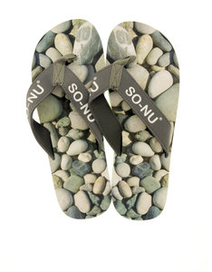 So Nu Pebbles Men's Flip Flops