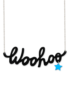 Little Moose Chit Chat Woohoo Necklace