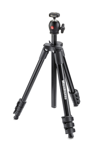 Manfrotto Compact Light Aluminum Tripod with ball head Black