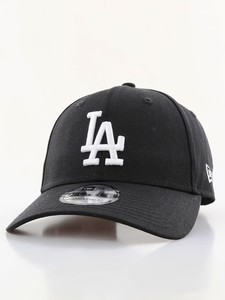 New Era League Essential LA Dodgers Cap Black/White