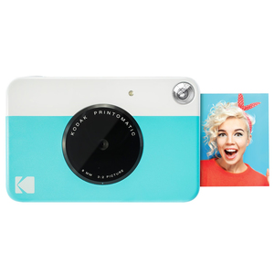 Kodak PRINTOMATIC Instant Digital Camera Blue