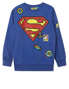DC Comics Superman Logo Badge Sweater