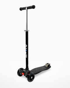 Maxi Micro Scooter Black with T-Bar