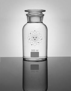 Jay Lab Apothecary Jar Clear White [500ml]