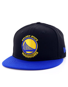 New Era Black Base GS Warriors Black/Blue Cap