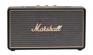 Marshall Stockwell Black Portable Bluetooth Speaker