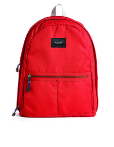 State Bags Bedford Red Backpack