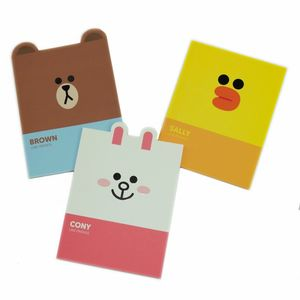 Line Friends Notebooks [Set of 3]