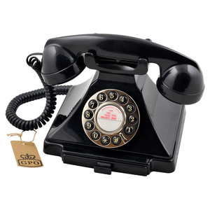GPO Telephones Carrington Black