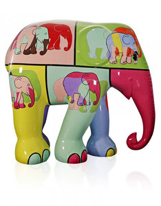Elephant Parade Pop Art Figurine 15cm