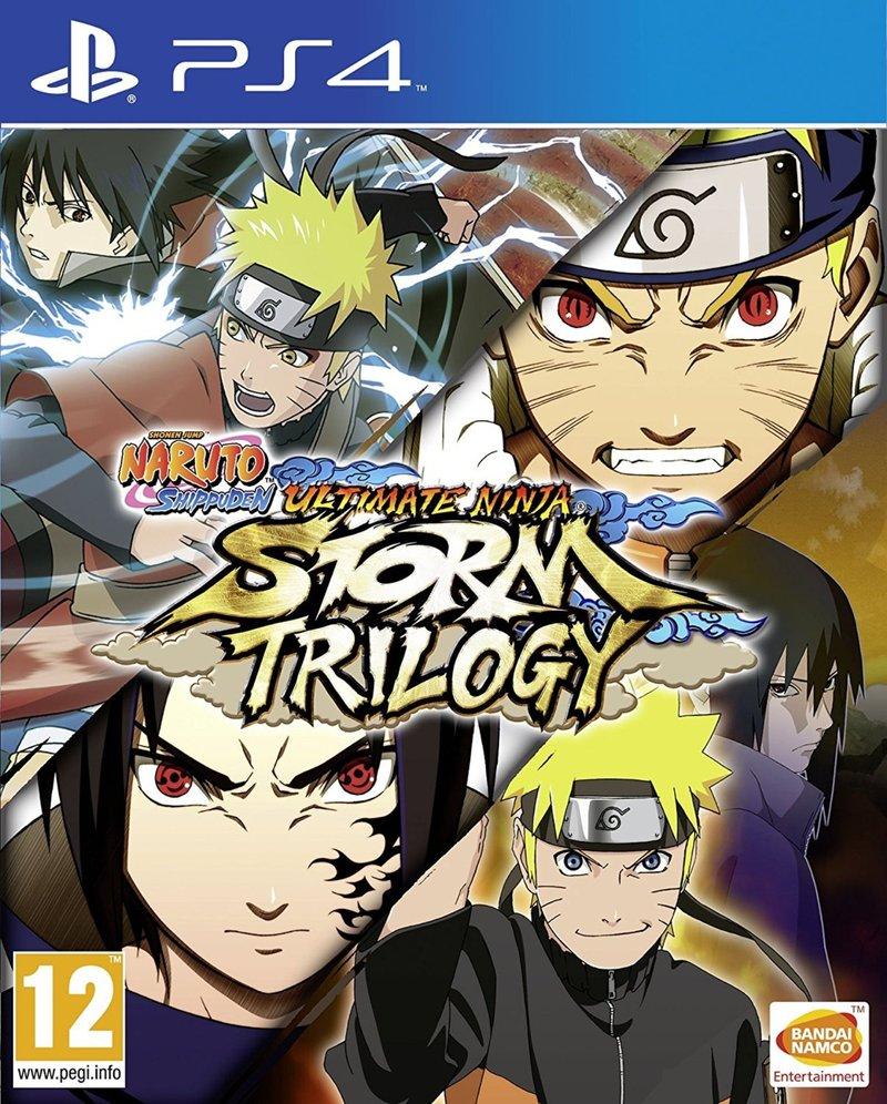 Naruto Shippuden Ultimate Ninja Storm Trilogy Standard
