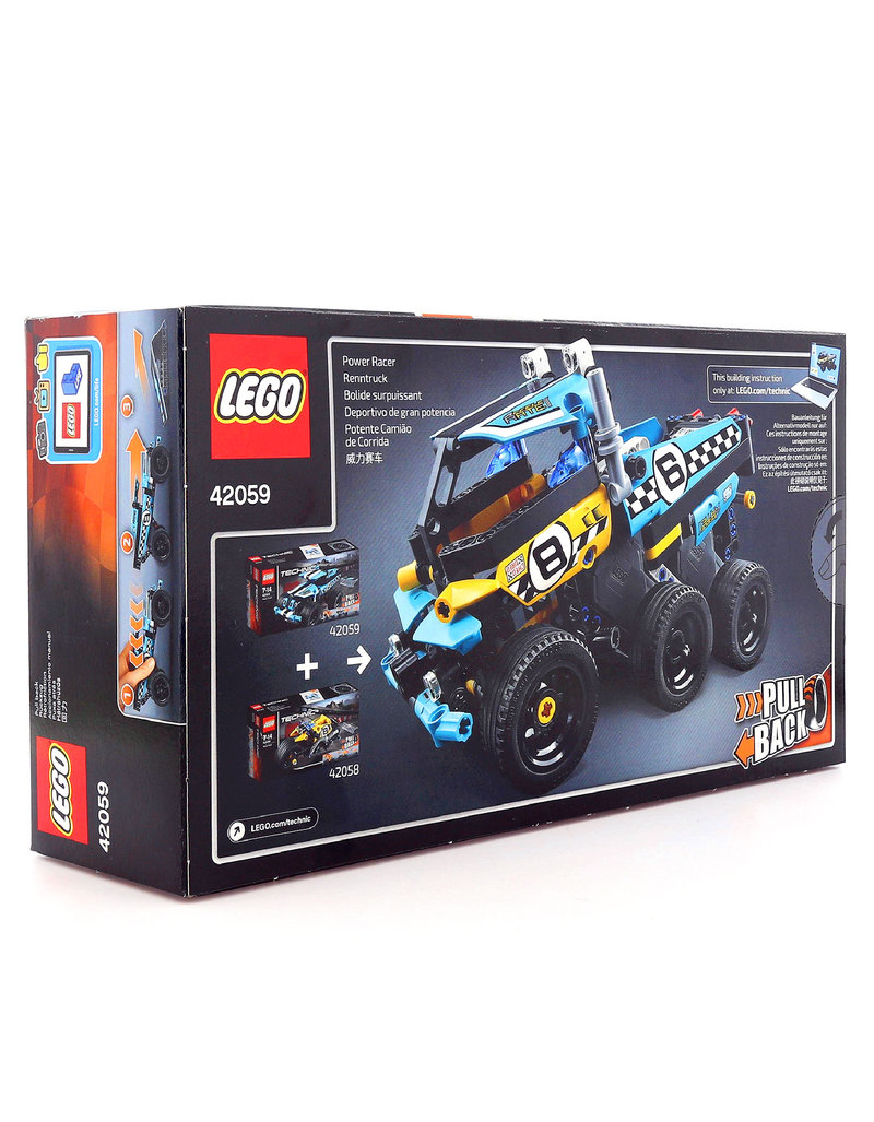 Lego Technic Stunt Truck 42059 Building Blocks Science
