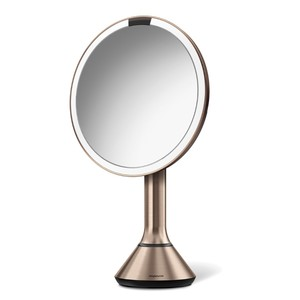 Simplehuman Sensor Touch Control Mirror Rose Gold 20cm