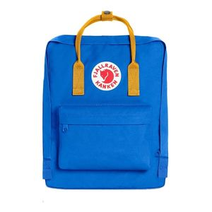 Fjallraven Kanken Backpack Un Blue Warm Yellow