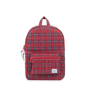 Herschel Settlement Youth Red Plaid Backpack